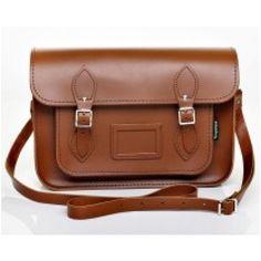 chestnut Leather Satchel