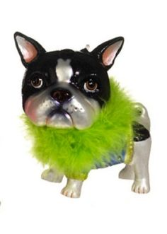Boston Terrier Christmas Ornament - I have this one too!