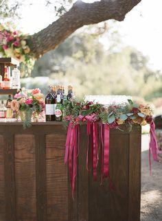 Rustic & romantic vineyard wedding: Corinne + Patrick