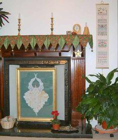 Fireplace mantel runner?