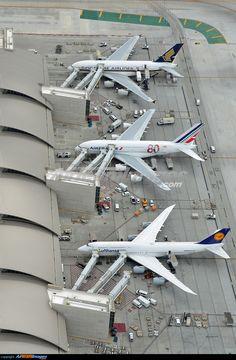 • Lufthansa Boeing 747-8i • Air France Airbus A380 • Singapore Airlines Airbus A380 ...