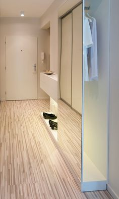 Entrance1 Impeccable and Neat Design Defining a Beautiful Modern Apartment in Bratislava