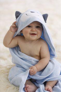 velour terry hooded towel. #carters #littlelayette