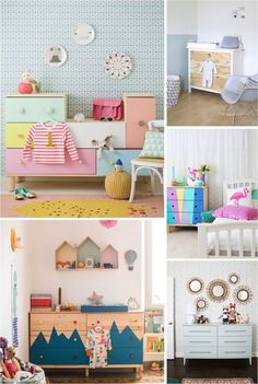 Here're some seriously clever Ikea hacks to transform a simple Ikea chest of drawers into a dreamy furniture.