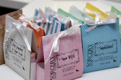 How to create custom soap packaging including a DIY video for these fun homemade soap bags.