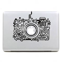 USD $ 4.49 - Retro Camera Apple Mac Decal Skin Sticker Cover for 11 13 15 MacBook Air Pro, Free Shipping On All Gadgets!