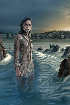 Devil Reef, Innsmouth by Richard Pace Lovecraft Cthulhu, Hp Lovecraft, Medieval Fantasy, Dark Fantasy, Sunless Sea, Grimm, Yog Sothoth, Mountains Of Madness, Call Of Cthulhu Rpg