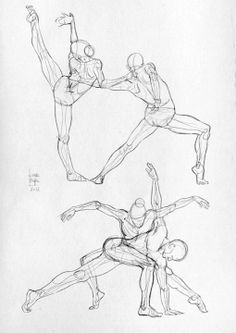 Laura Bergman Dance Sketch