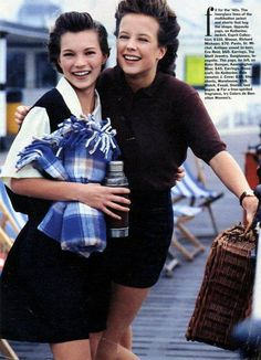 Seventeen mag 1991 Kate Moss young by Luca Donato
