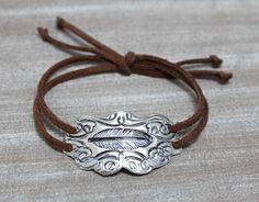 Soutwestern Boho Boho statement  Armbånd - Bracelet Sterling sølv - silver www.lissiedesign.no