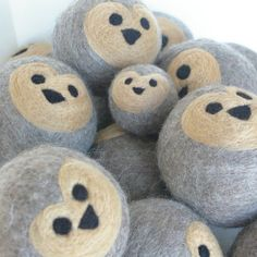 Wool critters - I'm not sure what their purpose is..but I want one!