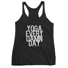Every Damn Tank Chaturanga Day Yoga 7Od5xfwnO