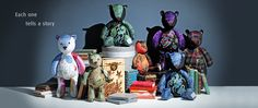 Taunina bears - AMAZING handmade in Woodstock South Africa and changing lives of the artists creating them