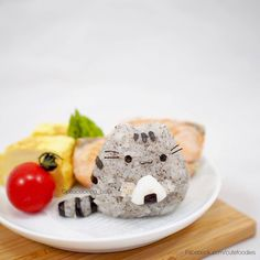 Pusheen the Cat rice ball