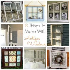 Whether you have a few antique windows laying around, or you have been searching long are far from the perfect set, you know that they are not easy to come by. When you do find some, you want to h…