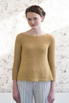 yarrow by pam allen / quince & co kestrel in yarrow