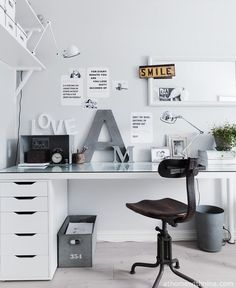The home office can be arranged anywhere, depends on your fantasy. Home office can be both conservative and ultra-modern, if you wish to transform into