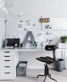 Työhuone inspiraatiota - VaniljaHouse - CASA Blogit