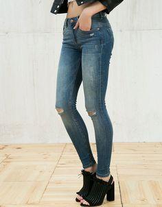 Jeans - MUJER - MUJER - Bershka Costa Rica