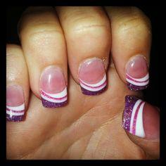 solar gel nails
