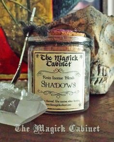 Shadows Incense for the Dark time of the year, Samhain Incense, Handcrafted Incense, Aromatherapy, Natural Incense, Incense Blend, Incense, $14.95