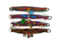 Friendship Bracelet Selection   Boho Chic Style by maslinda