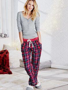 Victoria's Secret Holiday Pajamas 2015 #victoriassecret #vsholiday