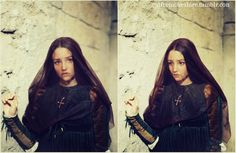 Olivia Hussey as Juliet Capulet in Romeo and Juliet (1968).