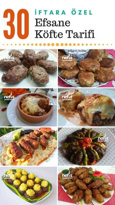 The most beautiful meatball recipes, all tried, 30 different recipes . - The most beautiful meatball recipes, all tried, 30 different recipes in full size … – - Iftar, Meatloaf Recipes, Meatball Recipes, Meat Recipes, Turkish Recipes, Italian Recipes, Ethnic Recipes, Fish And Meat, Recipe 30