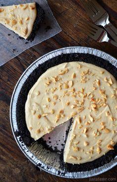 Frozen Peanut Butter Banana Pie