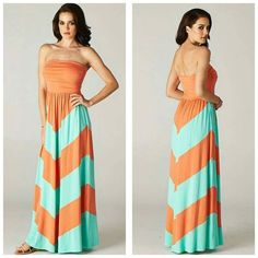 Women Orange color dress for Rs 1299