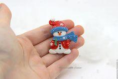 Купить Снеговичок. Брошь - снеговик, снеговичок, снеговик брошь, брошь снеговик, снеговик в подарок