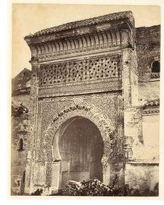 Algérie, Tlemcen, Mosquée de Sidi Lahssen, La Porte    #Afrique_Africa #Algérie