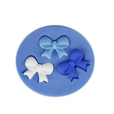 SHINA New Arrival Fondant Silicone Sugar Three Bows Shaped Cake Craft Mold For Your Baby * More info could be found at the image url.  This link participates in Amazon Service LLC Associates Program, a program designed to let participant earn advertising fees by advertising and linking to Amazon.com.