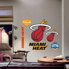 Fathead Miami Heat Logo Wall Graphic - 62-62002