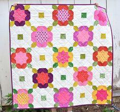 flower garden quilt | by ericajackman