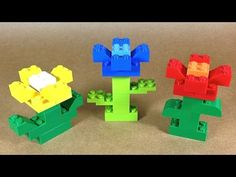 How To Build Lego FLOWERS - 4630 LEGO® Build & Play Box Building Instructions For Kids - YouTube