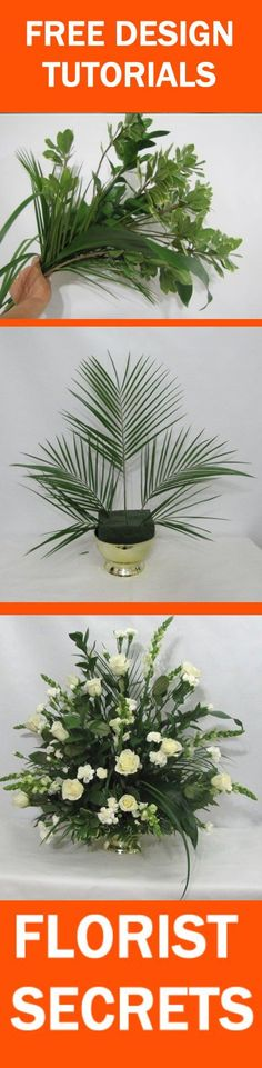 Church Wedding Flowers - Easy DIY Flower Tutorials  Learn how to make bridal bouquets, wedding corsages, groom boutonnieres, church decorations and reception centerpieces.