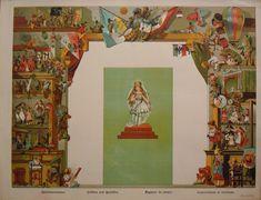 Schreiber - Magazin de Jouets side panels & center for background theatre