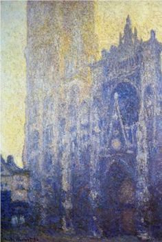 Rouen Cathedral, the Portal, Morning Effect - Claude Monet