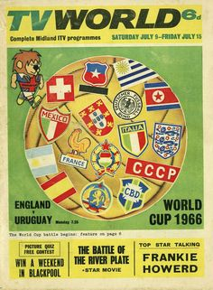 TV World magazine World Cup style in 1966.