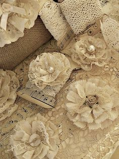 Shabby Chic Inspired crafting