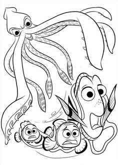 40 Finding Nemo Coloring Pages Free Printables Coloring Pages