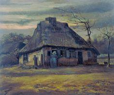 Vincent van Gogh (1853-1890) The cottage [1885] Amsterdam Van Gogh Museum - GAP