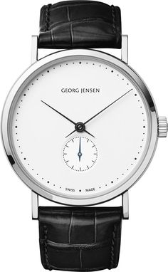 Georg Jensen Watch Koppel 38mm Hand Wound #add-content #bezel-fixed #bracelet-strap-alligator #brand-georg-jensen #case-depth-7-9mm #case-material-steel #case-width-38mm #delivery-timescale-1-2-weeks #dial-colour-white #gender-mens #luxury #movement-manual #official-stockist-for-georg-jensen-watches #packaging-georg-jensen-watch-packaging #style-dress #subcat-koppel #supplier-model-no-3575696 #warranty-georg-jensen-official-2-year-guarantee #water-resistant-30m