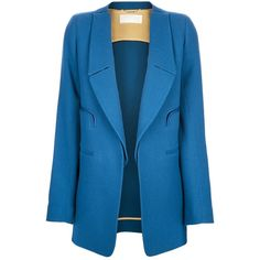 Chloe open front blazer ($2,255) ❤ liked on Polyvore