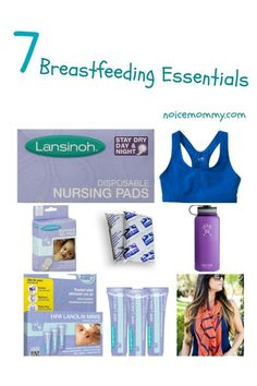 & Breastfeeding Essentials - Diary of a New Mommy