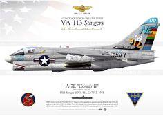 """A-7E """"Corsair II"""" VA-113 """"Stingers""""  IK-85"""