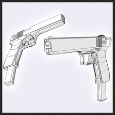Beretta 92 pistol free paper model download httpwww this paper model is an pernach a russian makarov machine pistol derived from the mm drotik machine pistol the papercraft is crea pronofoot35fo Gallery