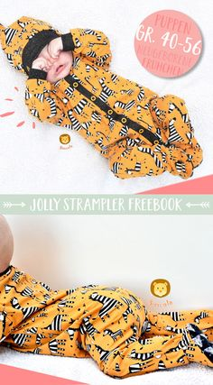 FREEBOOK: Jolly romper - the pajamas with feet - Lybstes. FREEBOOK: Jolly romper - the pajamas with feet - Lybstes. Baby Clothes Patterns, Cute Baby Clothes, Sewing Patterns Free, Free Sewing, Clothing Patterns, Diy Clothes, Clothes Storage, Christmas Crafts For Toddlers, Toddler Crafts